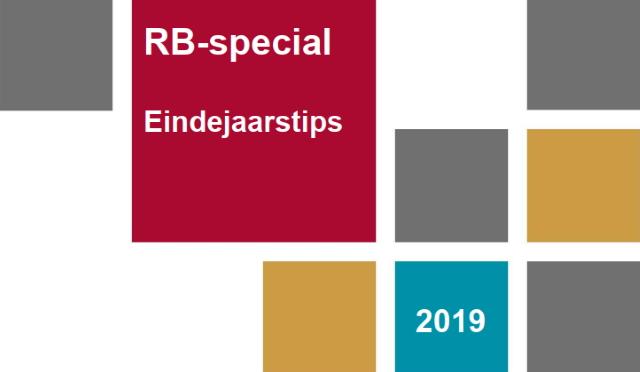 Omslag van de RB Eindejaars special 2019